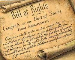 The Bill Of Rights o Carta de Derechos