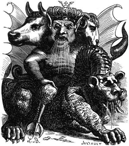 """Posesión demoniaca"" 1401 a 1500 d C."