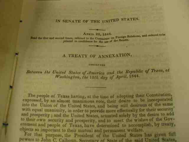 The Treaty of Annexation