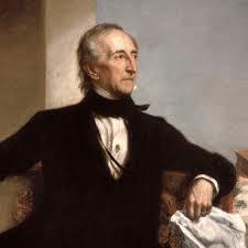 John Tyler becomes president.