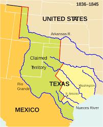 United States annexes Texas.