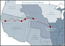 Most members of the Donner party die en route to California.