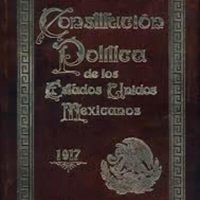 Revisión Histórica del Sistema Constitucional Mexicano timeline