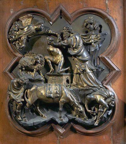 Filippo Brunelleschi, Sacrificio di Isacco