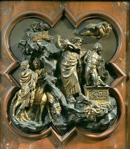 Lorenzo Ghiberti, Sacrificio di Isacco
