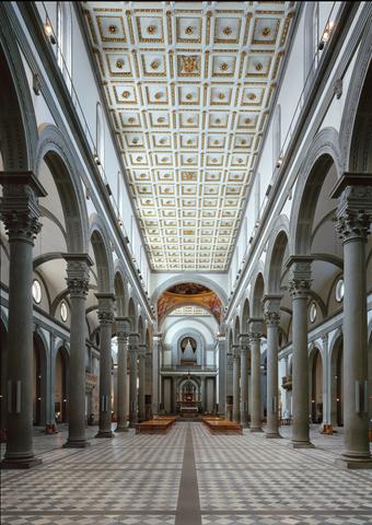 Filippo Brunelleschi, Basilica di San Lorenzo