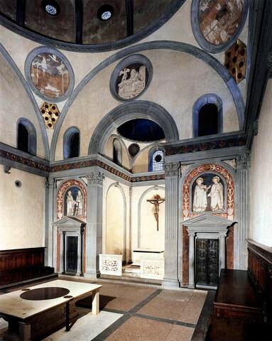 Filippo Brunelleschi, Sagrestia Vecchia