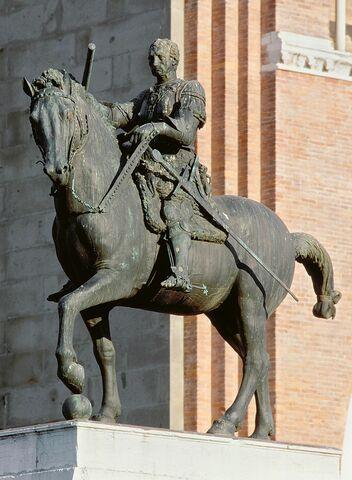Donatello, Monumento equestre del Gattamelata