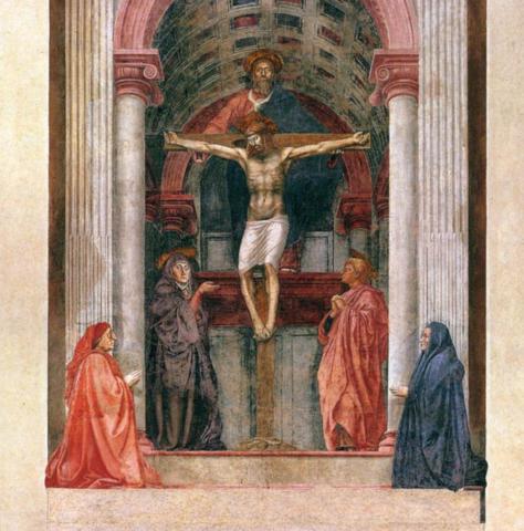 Masaccio, La Trinità