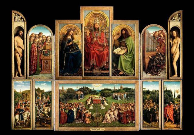 Hubert e Jan van Eyck, Polittico di San Bavone