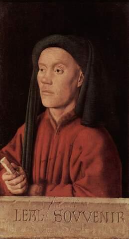 Jan van Eyck, Leal souvenir