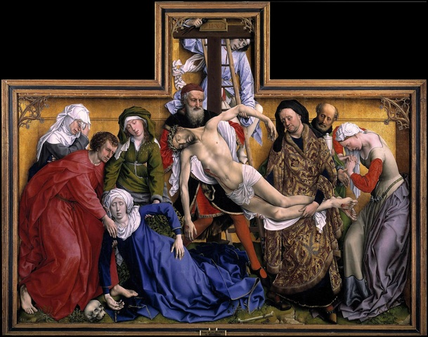 Rogier van der Weyden, Deposizione