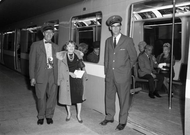 Inauguration du métro