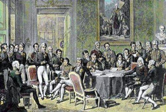 El congreso de Viena
