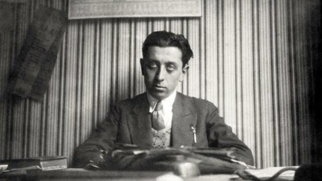 Robert Desnos (1900 - 1945).