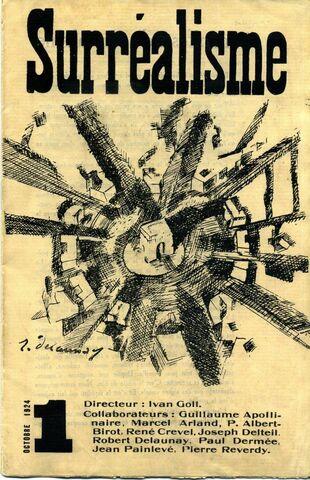 """""""Primer manifiesto del surrealismo"""" por André Breton."""