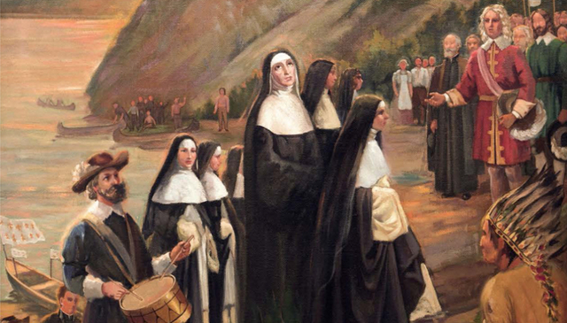 L'arrivée des premières communautés religieuses