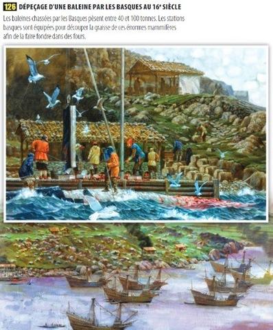 Les pêcheries en Amérique du Nord au 16e siècle