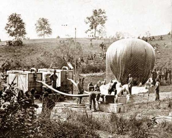 First Military Balloon Launched