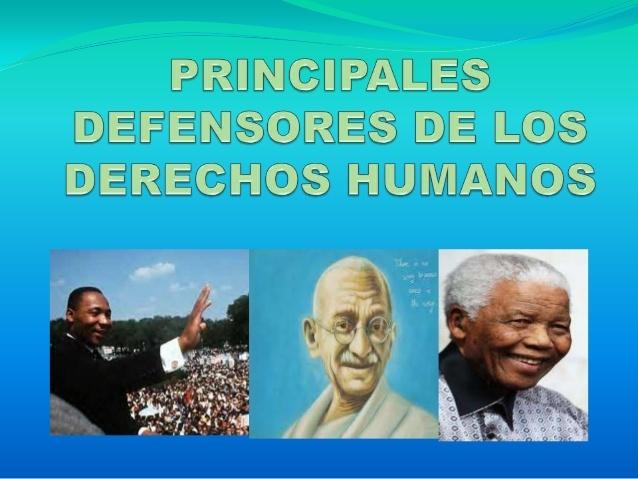 Defensores de los Derechos Humanos