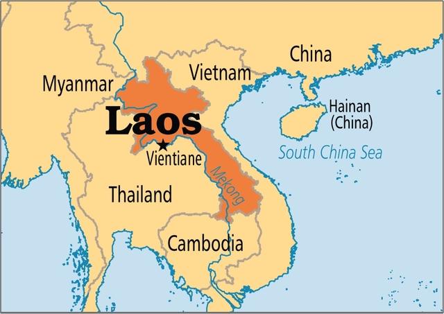 Indochina se divide en Laos,Camboya y Vietnam