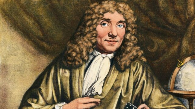 Antoni Van Leeuwenhoek 1632 - 1723 dC.