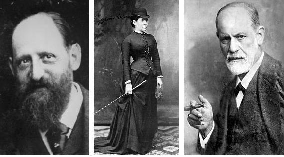 Brever y Sigmund Freud 1880 a 1882 dC.