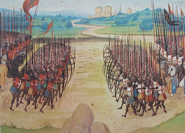 Algas sõda Inglismaa ja Prantsusmaa vahel