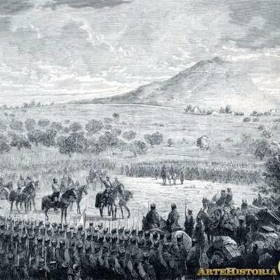 El régimen de la Restauración. Características y funcionamiento del  sistema canovista - Guerra colonial y crisis de 1898. timeline