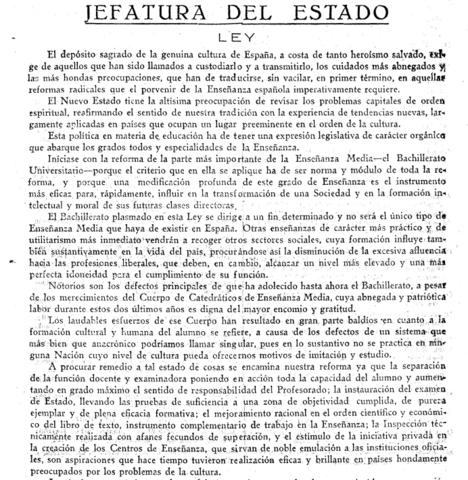 Ley de Reforma de Enseñanza Media