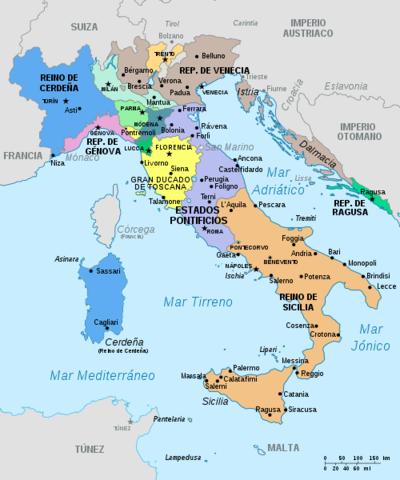 La unidad Italiana