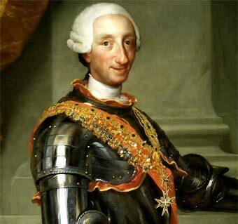 Carlos III asciende al trono español