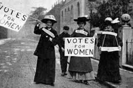Lucha por el voto femenino