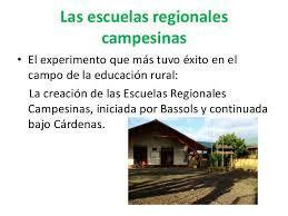 Escuelas Regionales Campesinas