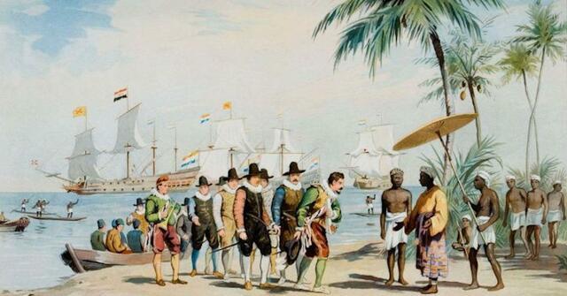 berakhirnya masa pemerintahan Inggris di Indonesia.