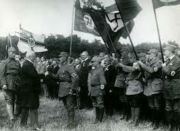 The Nazi party takes power in Germany.