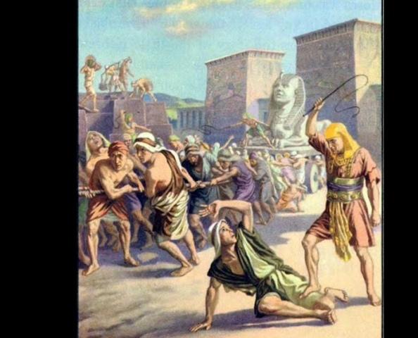La esclavitud de los israelitas