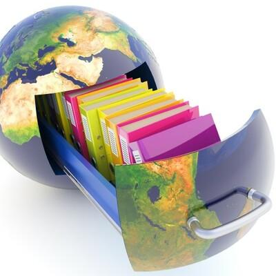 Desarrollo histórico de la organización del conocimiento y la información. timeline