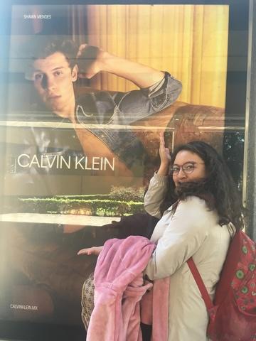 Pusieron un póster de mi cantante favorito en el TEC