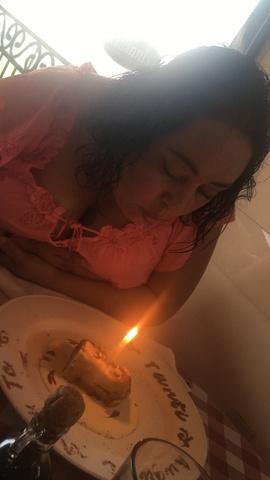 Festejamos el cumpleaños de mi mamá