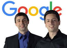 Personaje relevante Larry Page y Sergey Brin