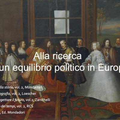 Alla ricerca di un equilibrio politico in Europa. timeline