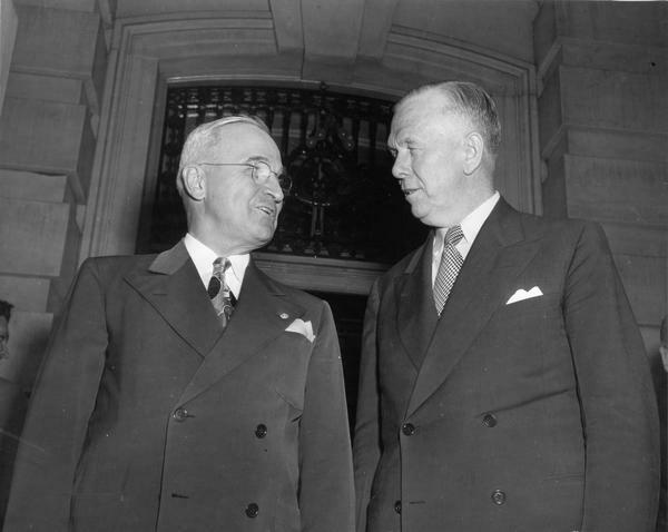 Trumandoktrinen og Marshallplanen