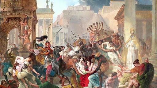 Fi de l'imperi Romà.