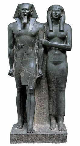 Micerino e la moglie