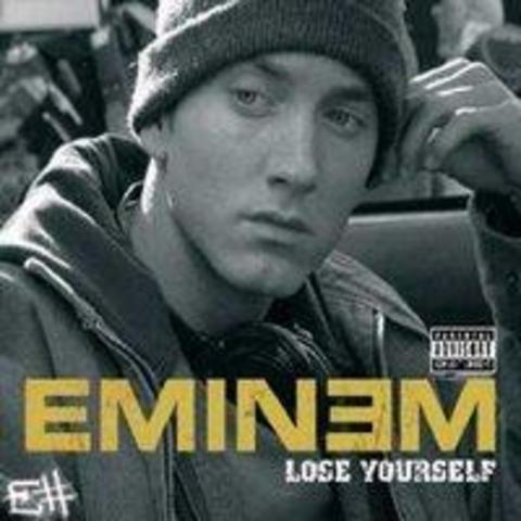"""Eminem's """"Lose Yourself"""" was the longest running #1 single."""