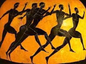 Celebración de los Primeros Juegos Olímpicos.