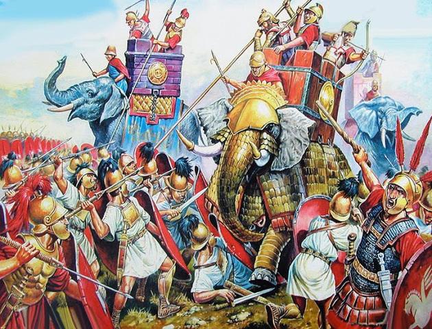 Comienza la colonización griega de occidente