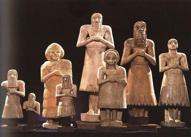 la scultura votiva
