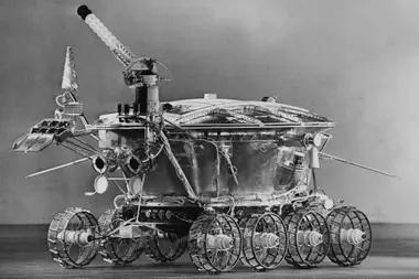 Primer rover espacial llamado Lunokhod